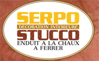 Logo serpo stucco